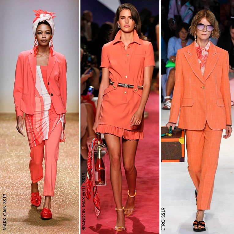 Lively Coral Fashion Pantone 2019